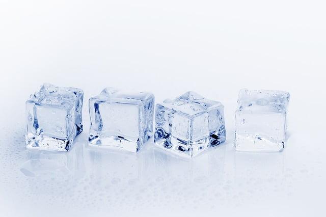 Fett einfach und schnell wegfrieren